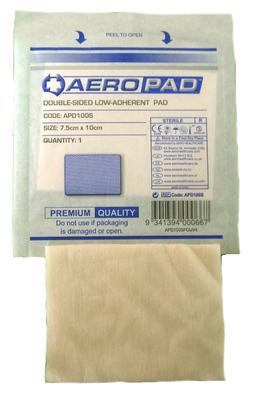 Low Adherent Dressing Pad 10cm * 7.5cm