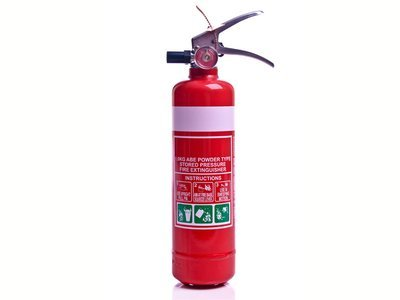 Fire Extinguisher 1.0kg ABE DCP HP hose
