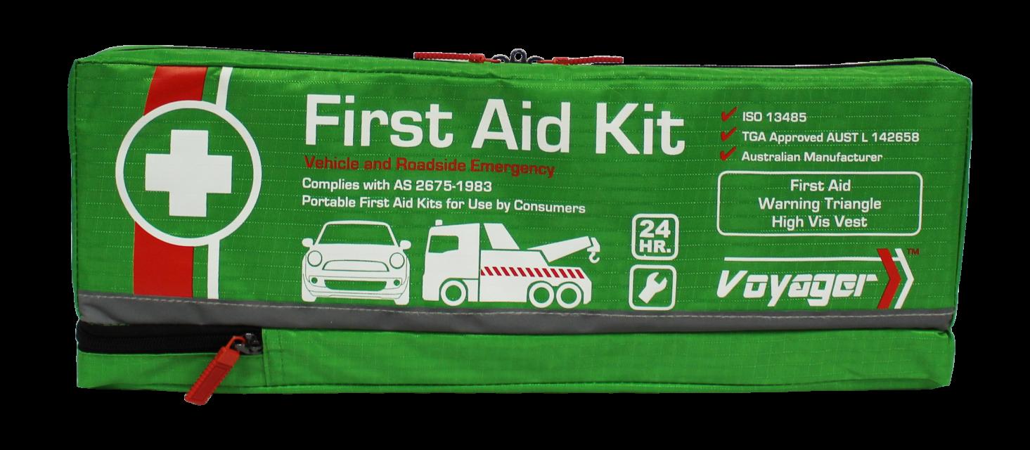 First Aid Kit - Vehicle and Roadside Emergency Kit