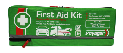 First Aid Kit - Vehicle and Roadside Emergency Kit