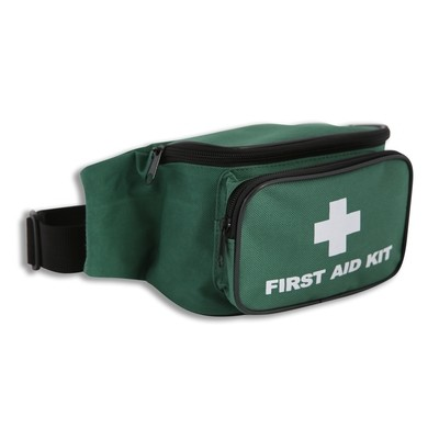 Green Softpack First Aid Bum Bag (Bag Only)