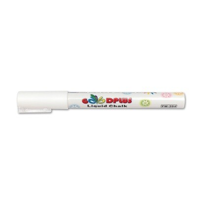 Маркер меловой (жидкий мел) Стандарт белый, 1-2мм