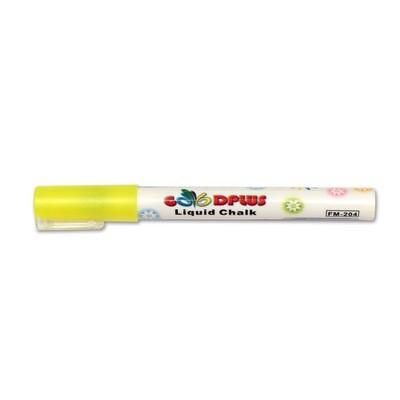 Маркер меловой (жидкий мел) Стандарт желтый, 1-2мм