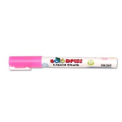 Маркер меловой (жидкий мел) Стандарт розовый, 1-2мм