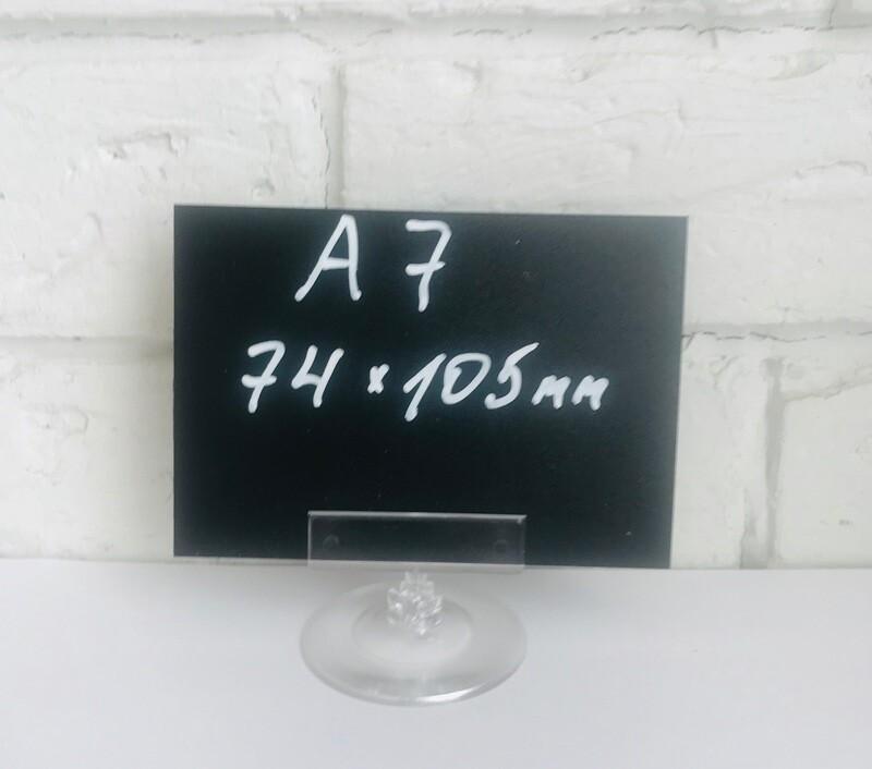 Меловой ценник прямоугольный А7(7,4*10,5см), 100шт Акция!!!