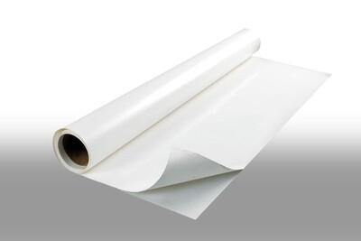 Маркерная пленка матовая, белая, самоклеющаяся 122см*5м