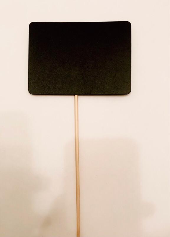 Меловой ценник на палочке/шпажке А7(7,4*10,5см), 10шт