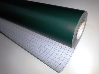 Меловая пленка/обои для рисования мелом и меловыми маркерами, зеленая, самоклеющаяся 120см*10м