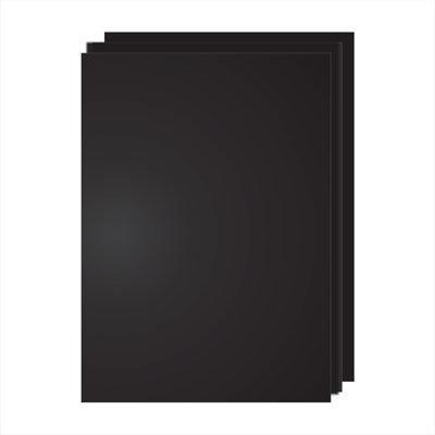 Меловая табличка-ценник двухсторонняя (ПВХ) А5(14,8см*21см), черный, 1шт