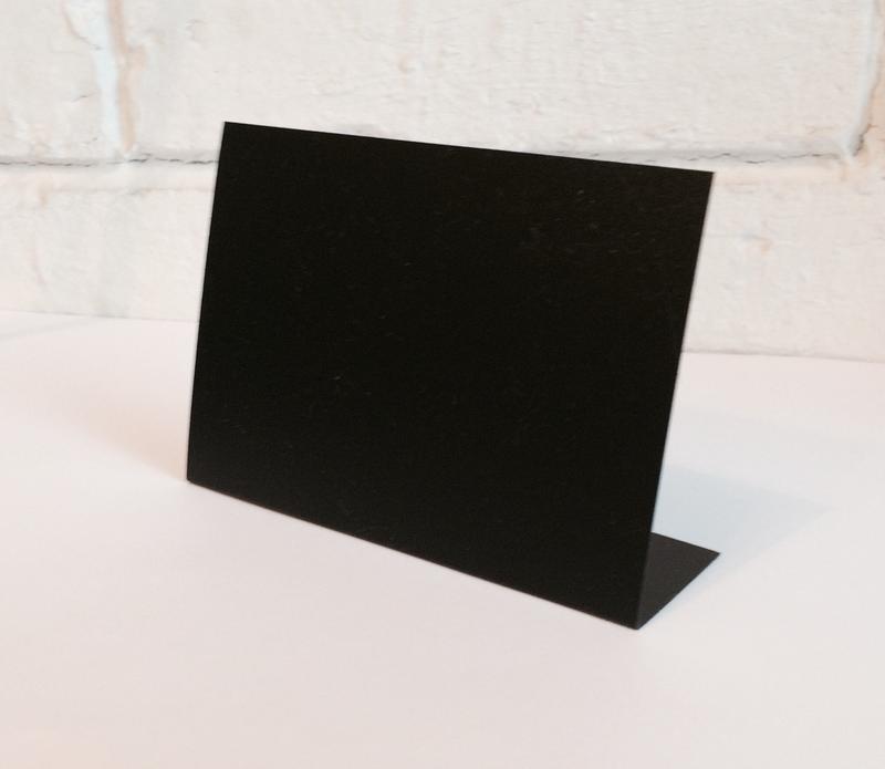 Меловой ценник А7L горизонтальный (7,4*10,5см), 500шт
