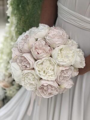 BLUSH - Pink & White Peony Bridal Bouquets