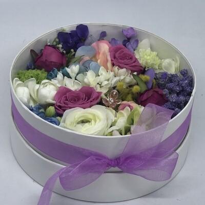 PRIMROSE - Colourful Floral Gift Box