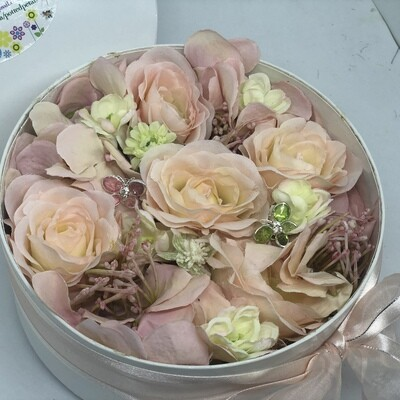 CORAL - Pink & Yellow Floral Gift Box