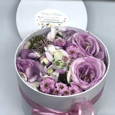 LILAC - Mauve Floral Gift Box