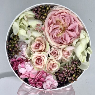 WILLOW - Pink Floral Gift Box