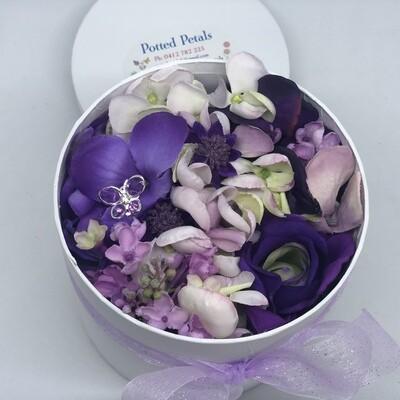 VERONA - Purple Floral Gift Box