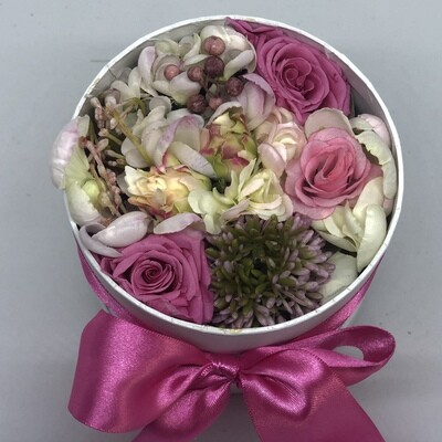 HETTY - Pink Floral Gift Box