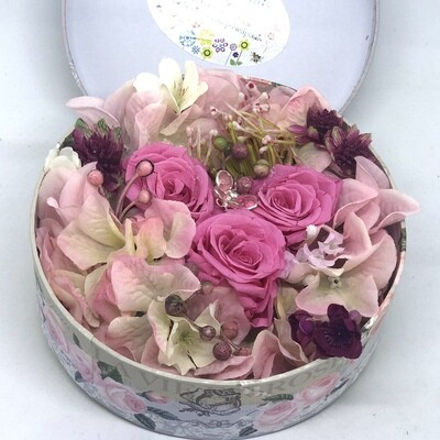 ORIANA - Pink Floral Gift Box