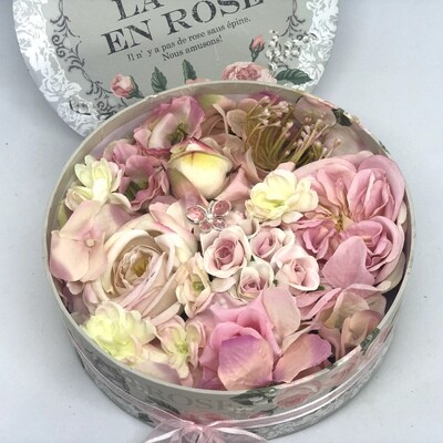 AMELIA - Pink Floral Gift Box