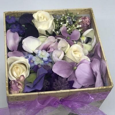KATIE - Purple Floral Gift Box