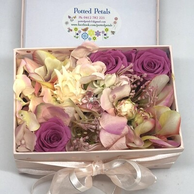 IMOGEN - Pink Floral Gift Box