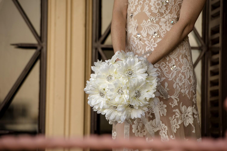 CARTER - Gerbera Bridal Bouquet