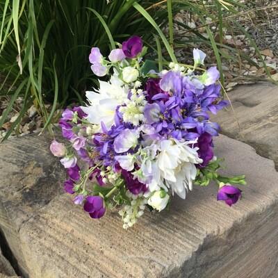 CARA - Lavender & Ivory Floral Bridal Bouquets