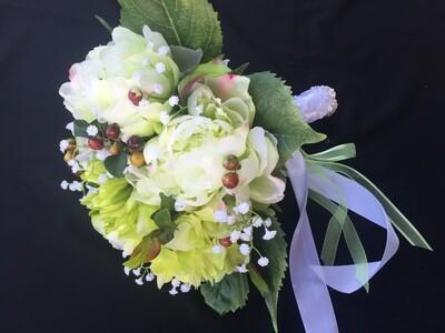 HEATHER - Green Bridal Bouquet