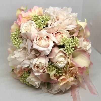 TILLEY - Pink Floral Bridal Bouquet