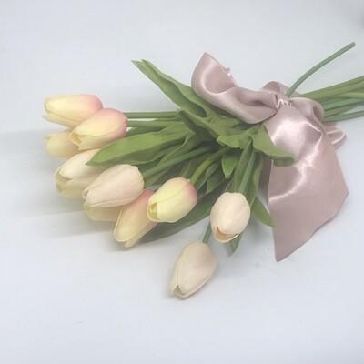 TULIP - A dozen pretty Pink Tulips