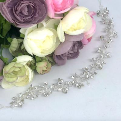 LORRAINE - Silver & Crystal Bridal Wedding Head Piece