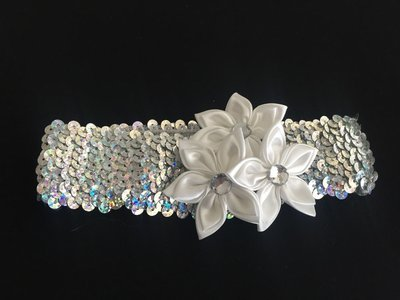SPARKLE -  Baby Toddler Wedding Bridal Headband