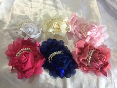 MELODY -  Baby Toddler Wedding Bridal Headband