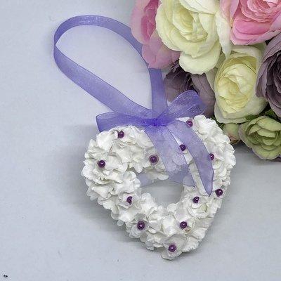 HEART - Flower Girl Wedding Bridal Wrist Charm