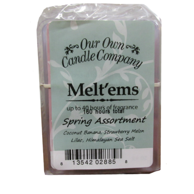 Spring 4 pack Melt'em Assortment