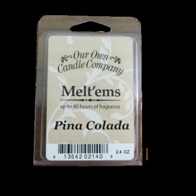 Pina Colada Melt'em - 6 Cube 2.4 ounce