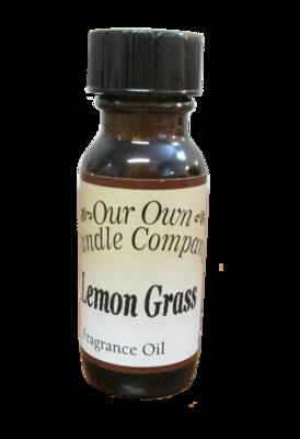 Lemongrass 1/2 oz Fragrance OIl