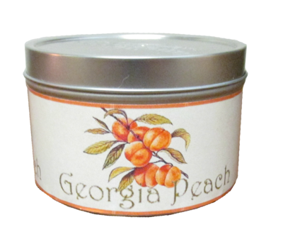 Fresh Peach Mini Tin
