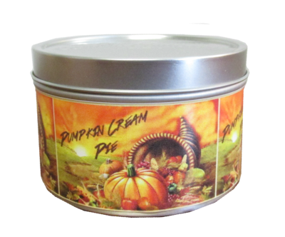 Pumpkin Cream Pie Mini Tin