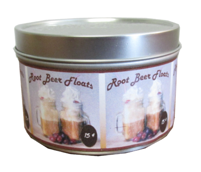 Rootbeer Float Mini Tin