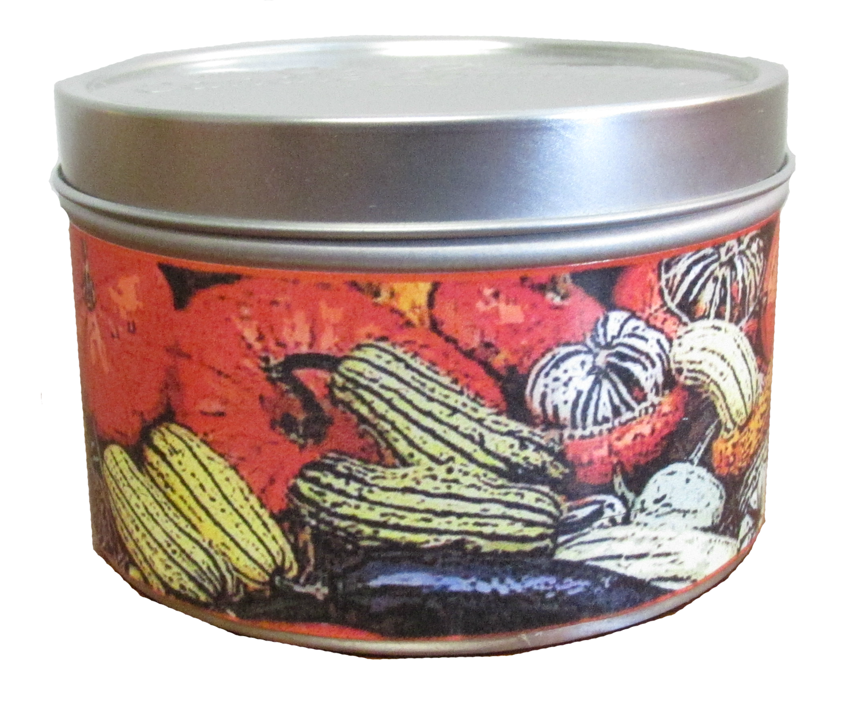 Pumpkin Spice In Gourds Mini Tin