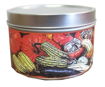 Pumpkin Spice In Gourds Mini Tin