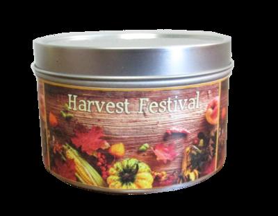 Harvest Festival Mini Tin