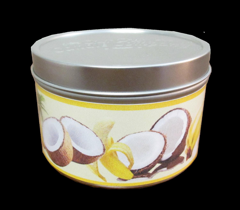 Coconut Banana Mini Tin