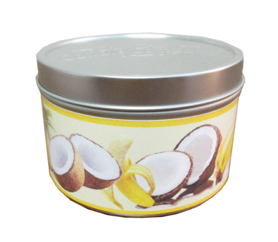 Coconut Banana Mini Tin
