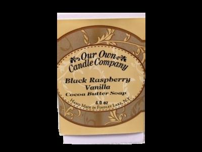 Black Raspberry Vanilla (Cocoa Butter Soap)