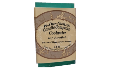 Cool Water ( pure glycerin soap with loofah)