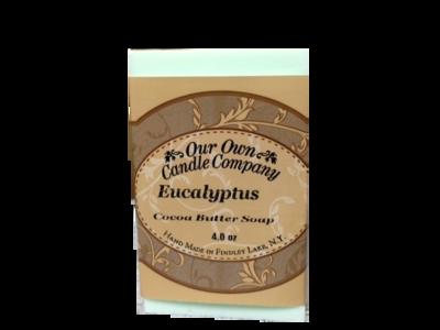 Eucalyptus (Cocoa Butter Soap)