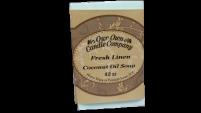 Fresh Linen Coconut Oil Soap