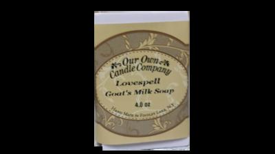 Love Spell ( Goat's Milk Soap)